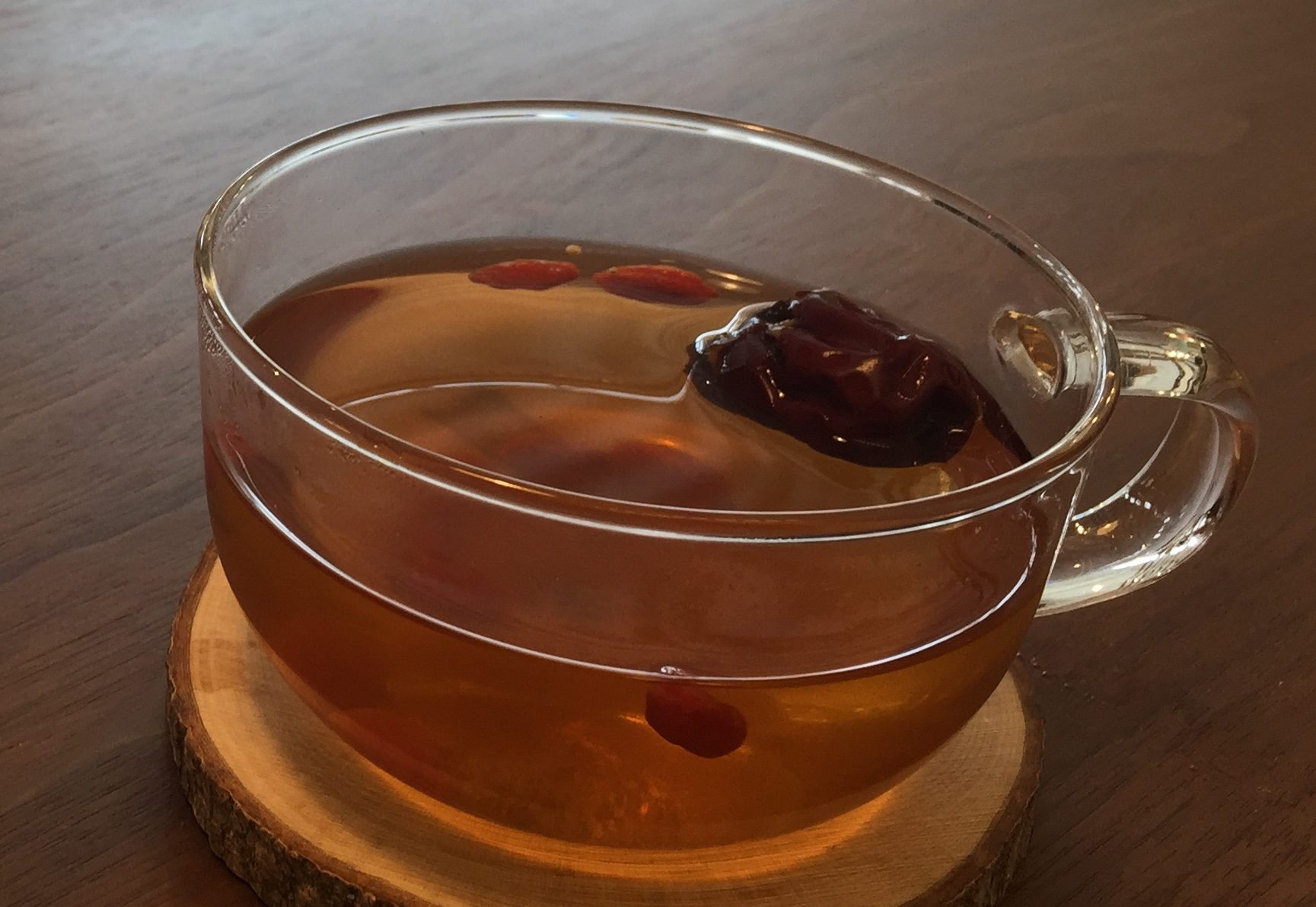 漢方茶を愉しむ。
