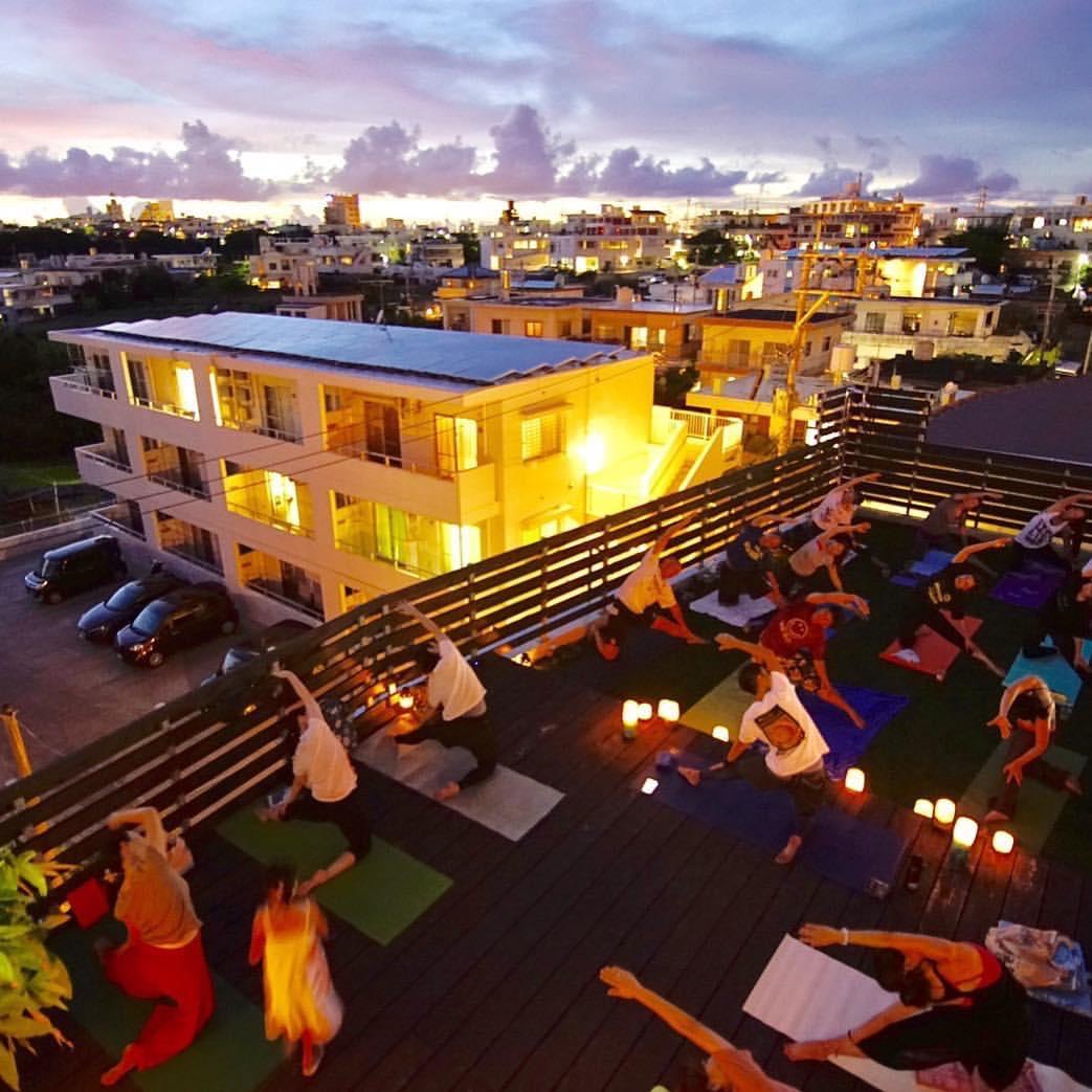 「第1回 るいヨガてぃーち+5」〜New Moon Yoga in Banana terrace〜