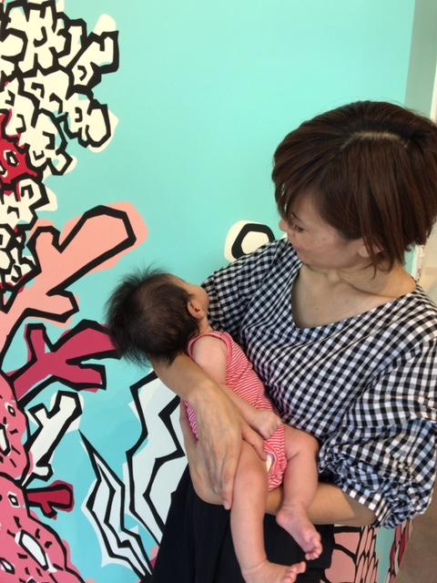 壁画「母なる海」子宝パワースポット